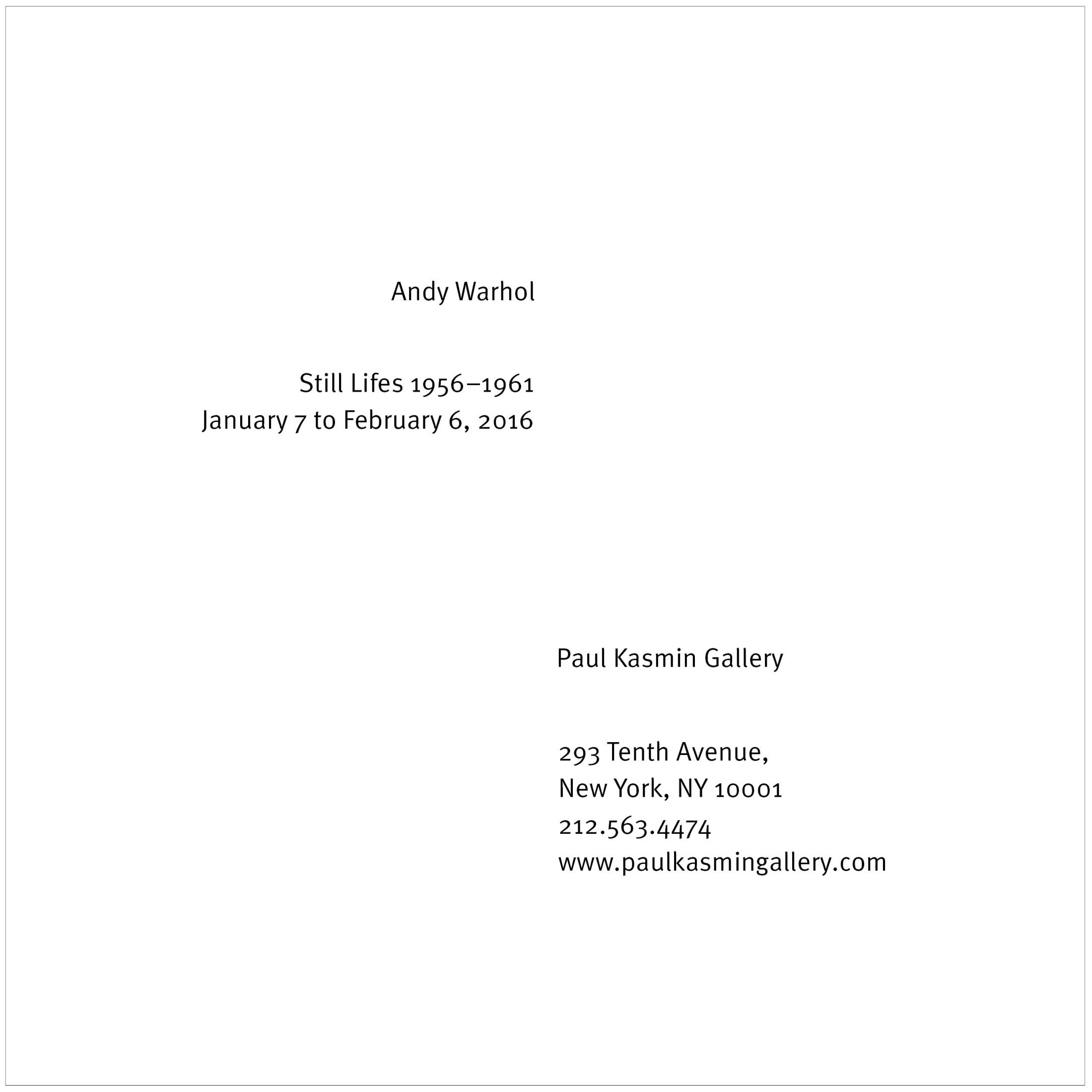 VisComm Warhol Poster 2015