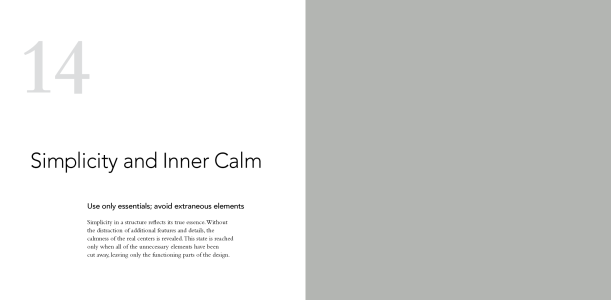 14 Simplicity And Inner Calm