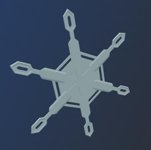 3dsnowflake